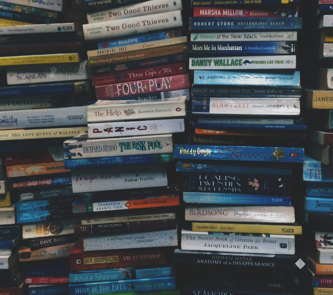 About moving, books and letting go