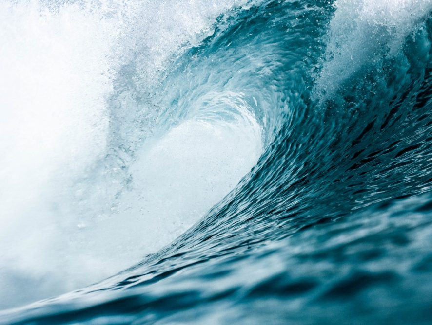 About surfing the waves in life